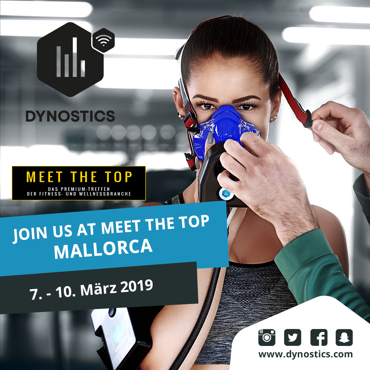 DYNOSTICS bei Meet the Top 2019